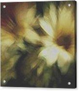 Painting Flowers Acrylic Print