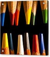 Painting Pencils Acrylic Print