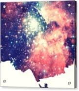 Painting The Universe Awsome Space Art Design Acrylic Print