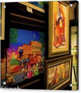Paintings Collage Acrylic Print