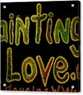 Paintings I Love.com 4 Acrylic Print