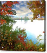 Paints Of Fall Acrylic Print