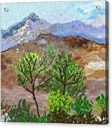 Paisaje- Chile-cerro Campana Acrylic Print