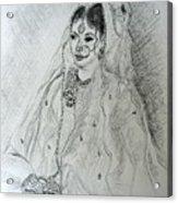 Pakistani Bride Acrylic Print