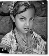Pakistani Girl Acrylic Print