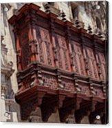 Palace Balcony Acrylic Print