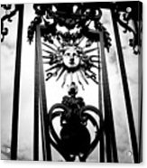 Palace Gate Acrylic Print