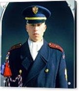 Palace Guard, Prague Acrylic Print