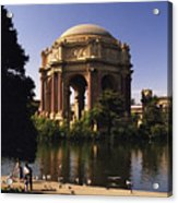 Palace Of Fine Arts Sf Acrylic Print