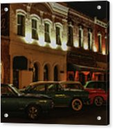 Palace Saloon Parking  Acrylic Print