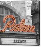 Palace Theatre Acrylic Print