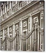 Palacio De San Telmo Facade Acrylic Print