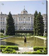 Palacio Real De Madrid Acrylic Print