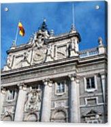 Palacio Real Acrylic Print