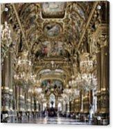 Palais Garnier Grand Foyer Acrylic Print