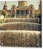 Palau Nacional Barcelona Acrylic Print
