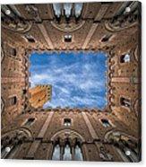 Palazzo Pubblico - Siena - Nv Acrylic Print