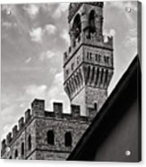 Palazzo Vecchio Tower Acrylic Print
