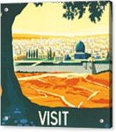 Palestine Acrylic Print by Georgia Fowler