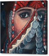 Palestinian Woman Acrylic Print
