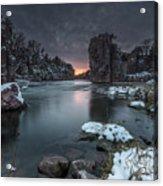 Palisades First Snow Acrylic Print