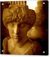 Pallas Au Parthenon Acrylic Print