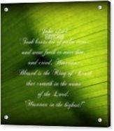 Palm Branch Acrylic Print