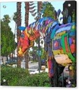 Palm Desert Coda Acrylic Print