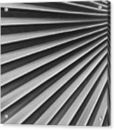 Palm Fan Pattern Acrylic Print