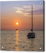 Palm Harbor Has The Best Sunsets Acrylic Print