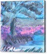 Palm Of The Night Acrylic Print