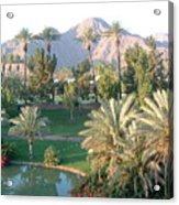 Palm Springs Ca Acrylic Print