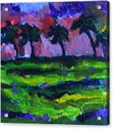 Palm Trees Redux Acrylic Print