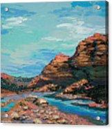 Palma Canyon Acrylic Print