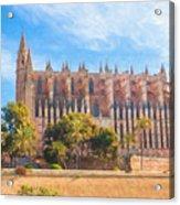 Palma Cathedral D40180 Acrylic Print