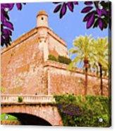 Palma De Majorca Old City Walls Acrylic Print