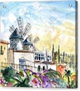 Palma De Mallorca Panoramic 03 Acrylic Print