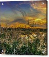 Palmer River At Sunset Acrylic Print