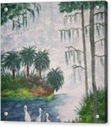 Palmetto Bayou Acrylic Print