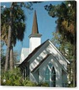 Palmetto Bluff Chapel Acrylic Print