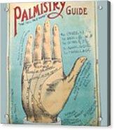 Palmistry Guide Acrylic Print