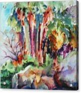Palms...no Springs Acrylic Print
