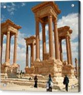 Palmyra-tetrapylon Acrylic Print