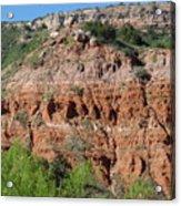 Palo Duro Canyon Amarillo Texas Acrylic Print