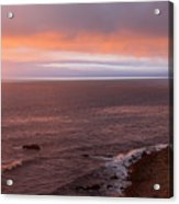 Palos Verdes At Sunset Acrylic Print