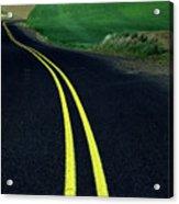 Palouse Back Road Acrylic Print