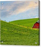 Palouse Barn Acrylic Print