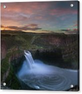 Palouse Falls Sunrise Acrylic Print