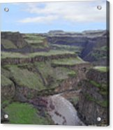 Palouse River Canyon Acrylic Print