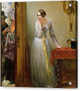 Palpitation Acrylic Print by Charles West Cope